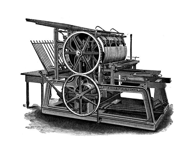mesin cetak - Sejarah Lengkap Percetakan di Indonesia