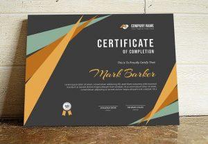 certificate 300x207 - Jasa Cetak Sertifikat di Bandung