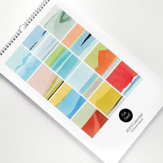 contoh kalender dinding - Cetak Kalender Dengan Design Yang Unik