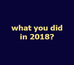 what you did in 2018 - Cara membuat dan mempertahankan Resolusi Tahun Baru