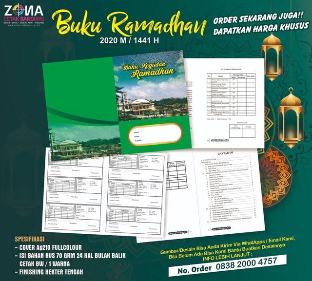 buku kegiatan ramadhan - Buku Ramadhan 2020 (1441 H)